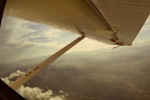 Vue d'avion sur le Var