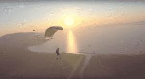 video de saut en parachute dans le var, de saut en parachute dans la région paca, en freefly et en saut en tandem