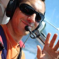 Jérémy pilote de pilatus à l'école de parachutisme PACA