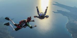 Sauter en parachute en PAC