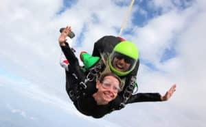 Bapteme saut chute libre en PACA