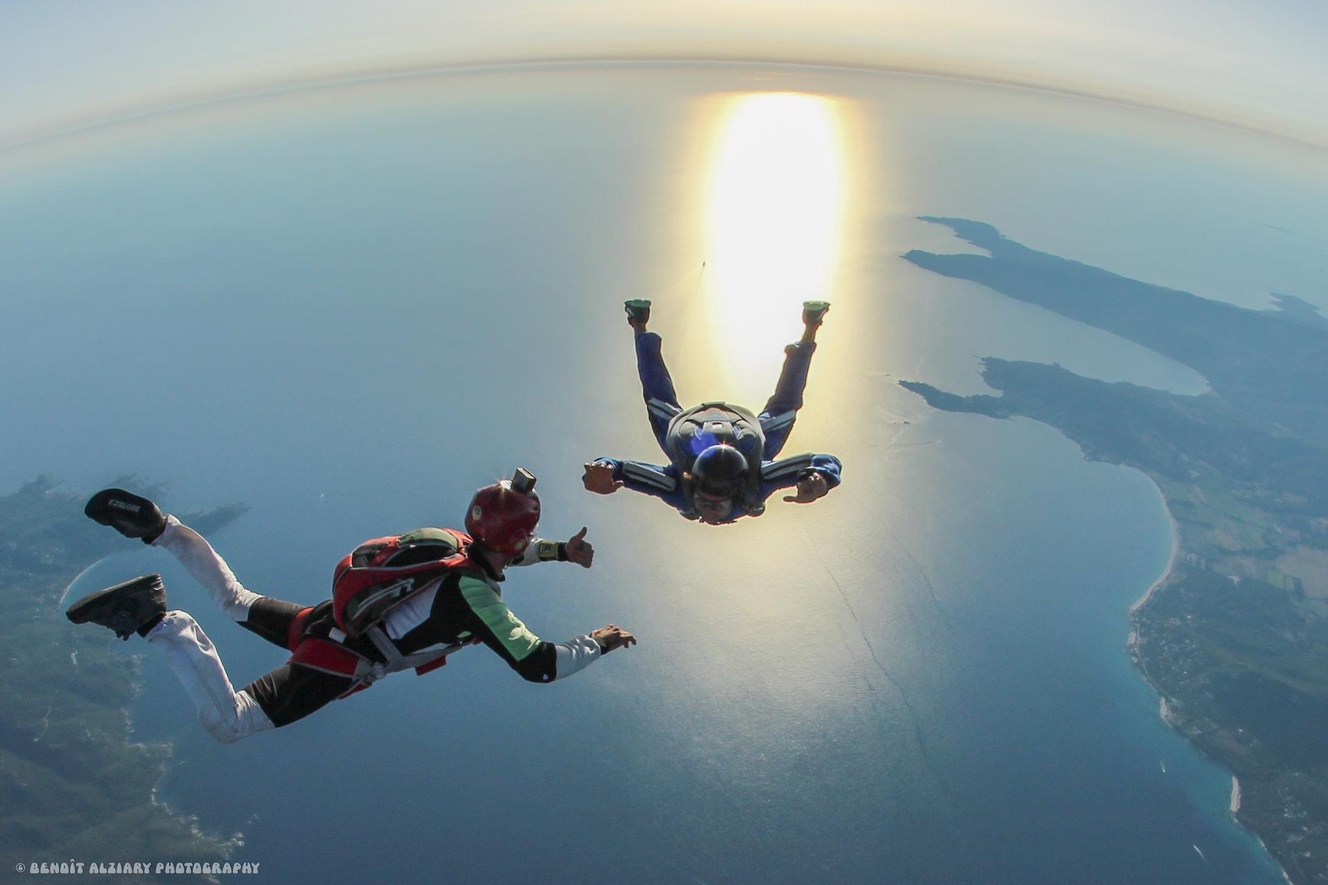 Saut en parachute PACA PAC