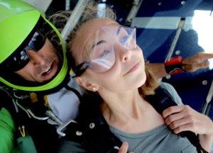 Saut en parachute PACA tandem