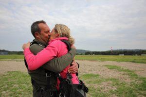 Saut en parachute mariages PACA