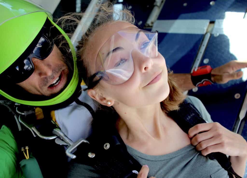 Saut en parachute pour Enterrement de Vie de Jeune Fille