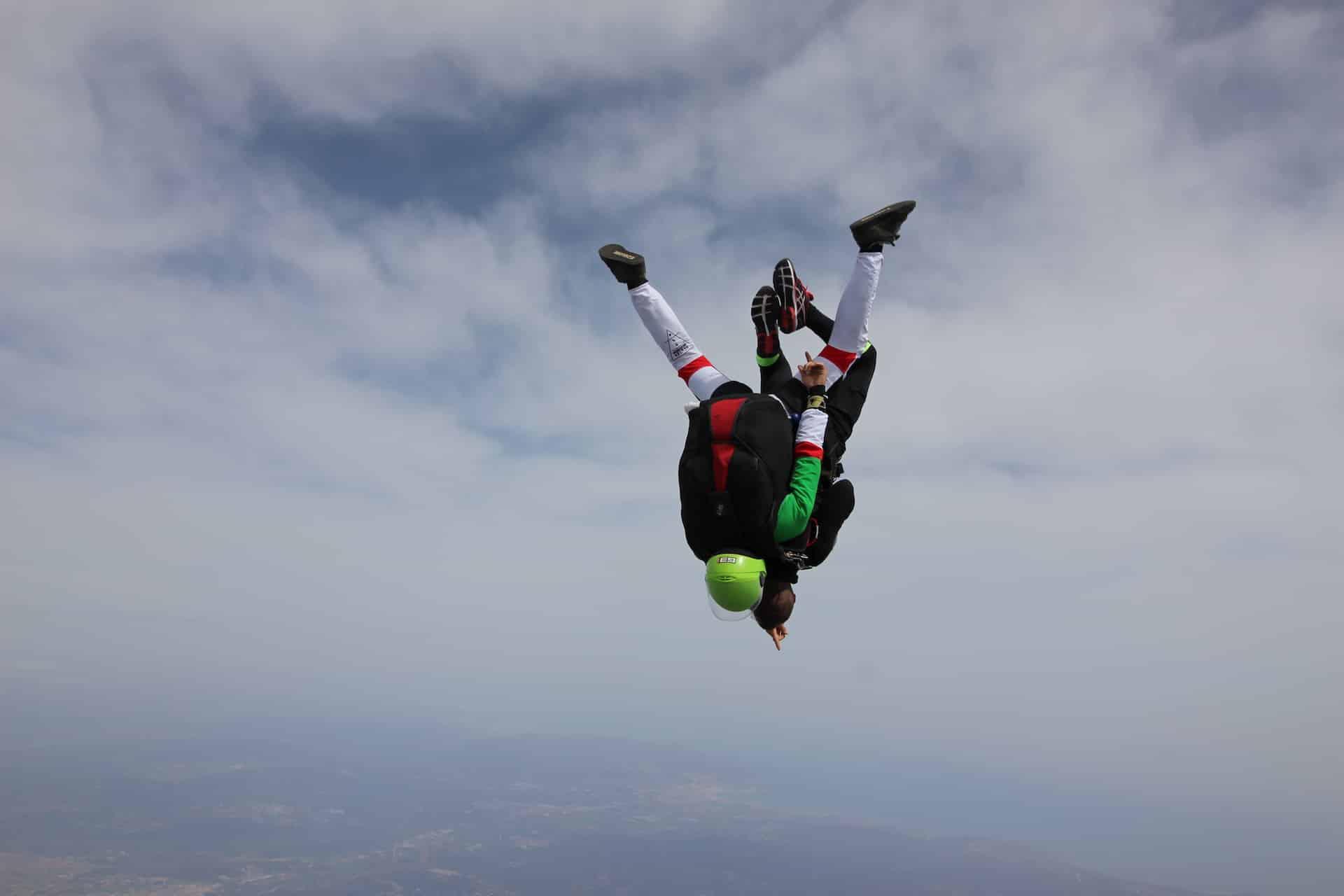 Saut en parachute pour un anniversaire en PACA