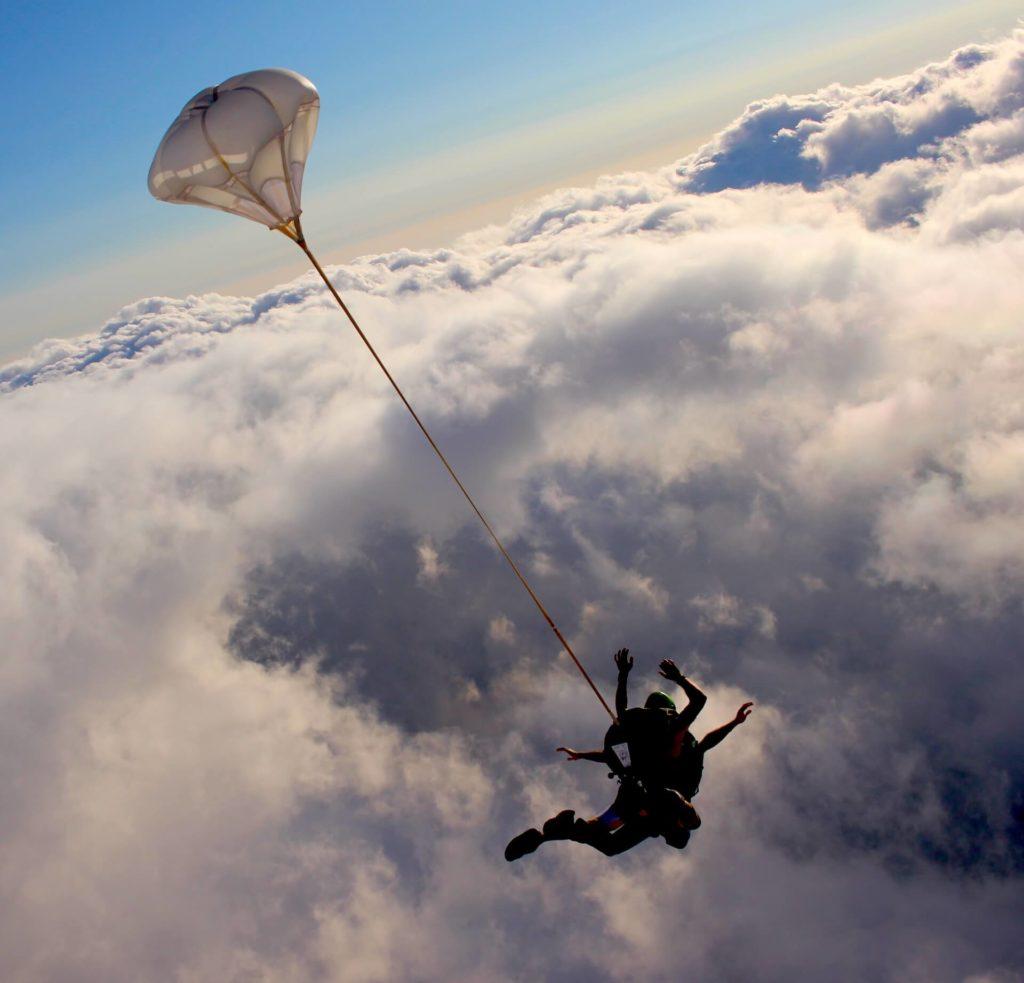 Tarifs saut parachute Var