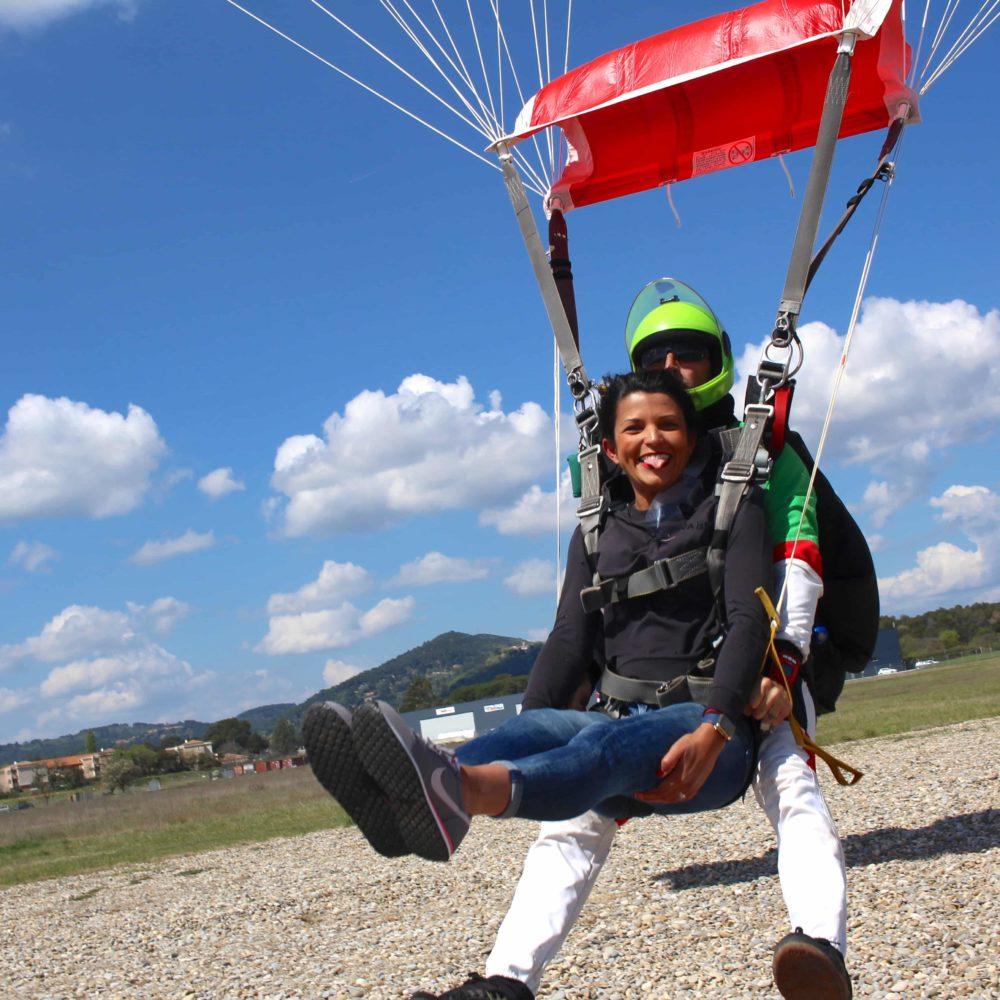 Bapteme de saut en parachute