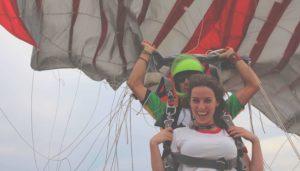 Evènements de sauts en parachute