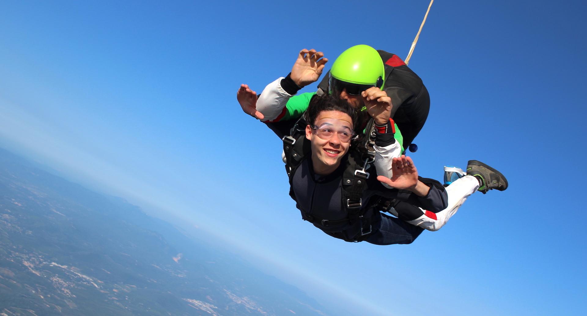 Renseignements saut en parachute PACA et Var