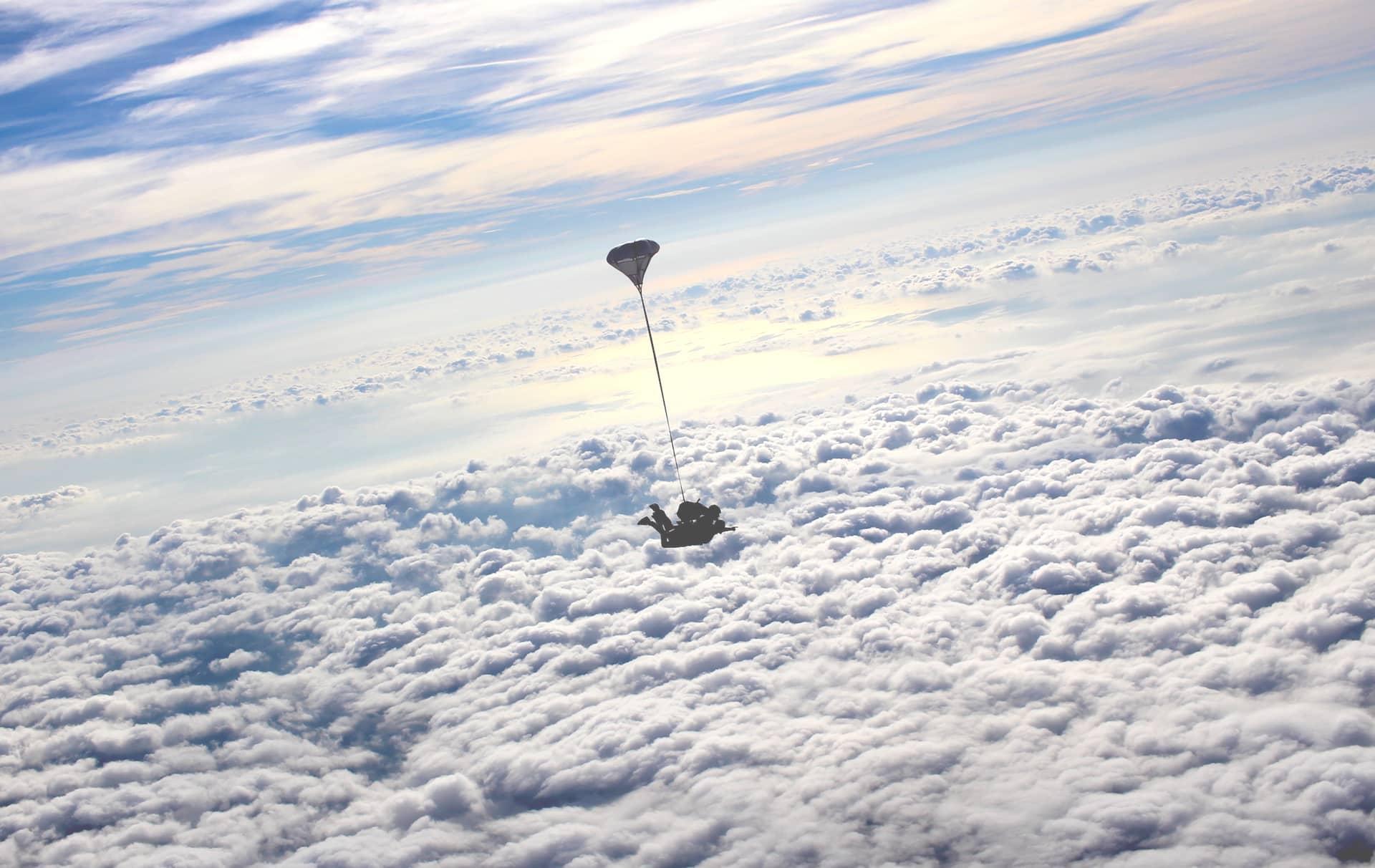 Saut en parachute en paca Newton