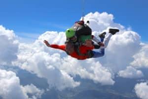 Achat de saut en parachute Newton Parachutisme