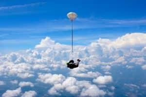 Saut en parachute PACA Newton