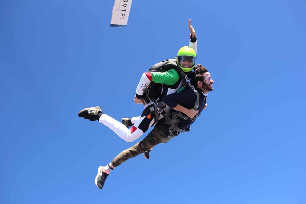 Saut en parachute PACA Newton Parachutisme